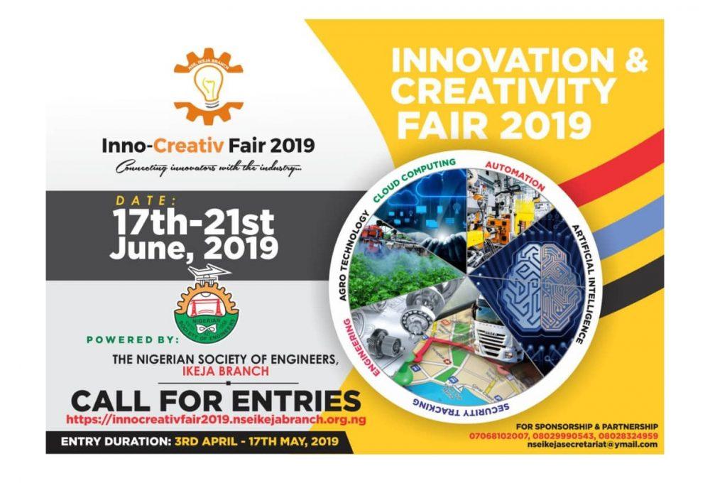 NSE Ikeja Announces Inno-Creativ Fair 2019